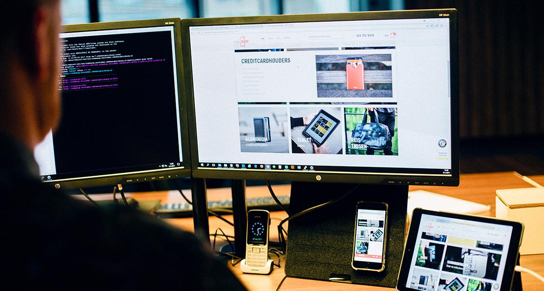 ontwikkeling webshop en applicaties